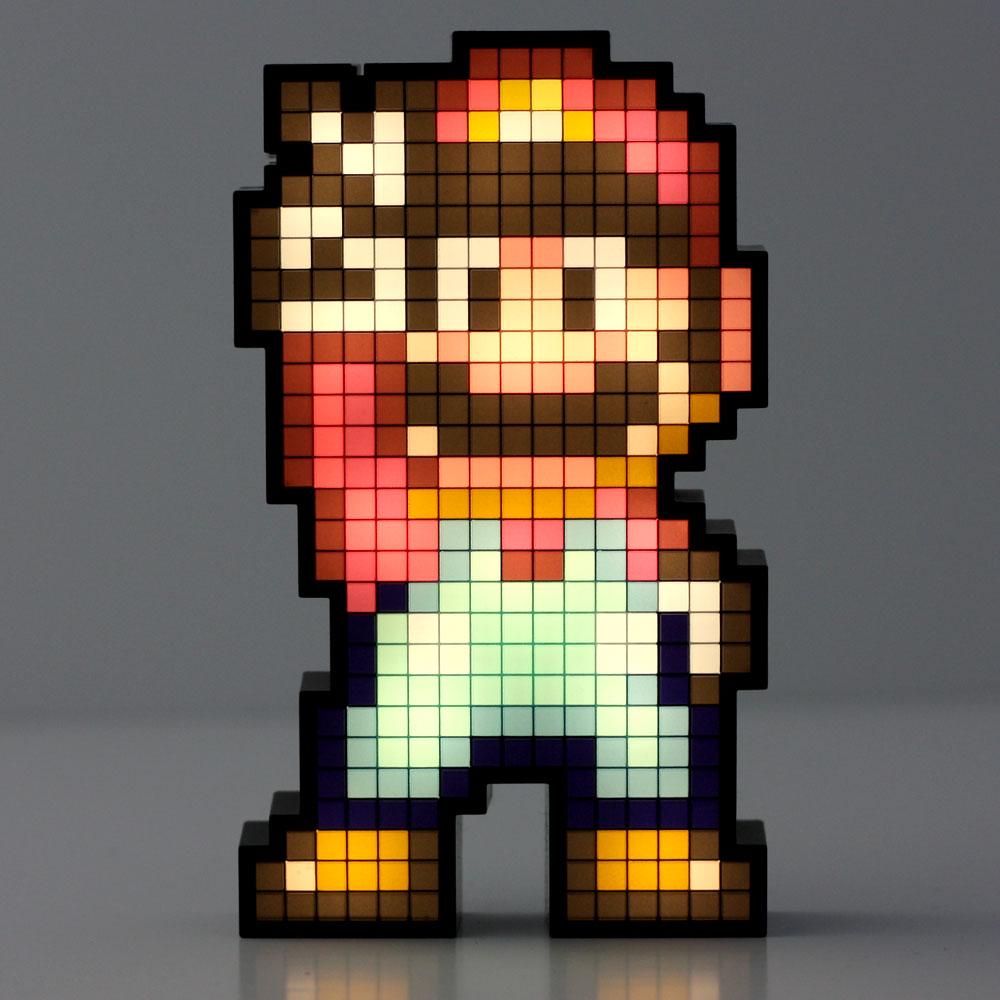 Super Mario Pixel Pals 020 Mario Lampe Deko Lootware