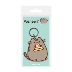 Pusheen – Pizza – Gummi – Schlüsselanhänger