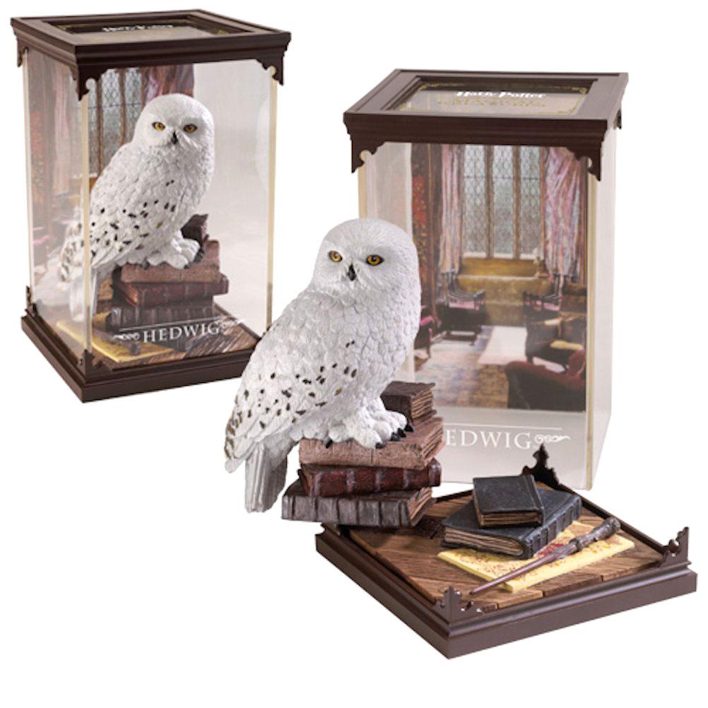 harry-potter-hedwig-briefeule-posteule-statue-sammelfigur-noble-collection-magische-kreaturen-pvc-diorama