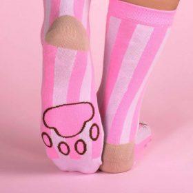 Sleepy Pusheen auf Marshmallow – Tasse mit Socken