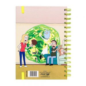 rick-and-morty-portal-notizbuch-notebook-a5-spiralbindung-pyramid-2