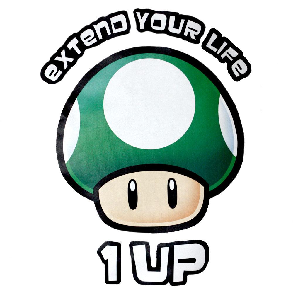 super-mario-grüner-pilz-hoodie-girlie-extend-your-life-1-up