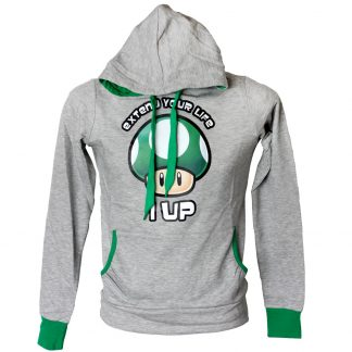 super-mario-grüner-pilz-hoodie-girlie-extend-your-life-1-up-2