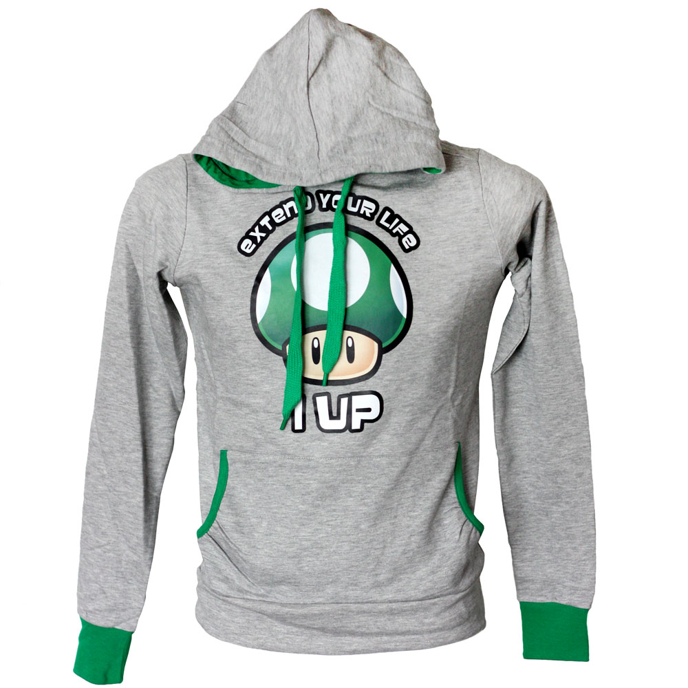super-mario-grüner-pilz-hoodie-girlie-extend-your-life-1-up-2