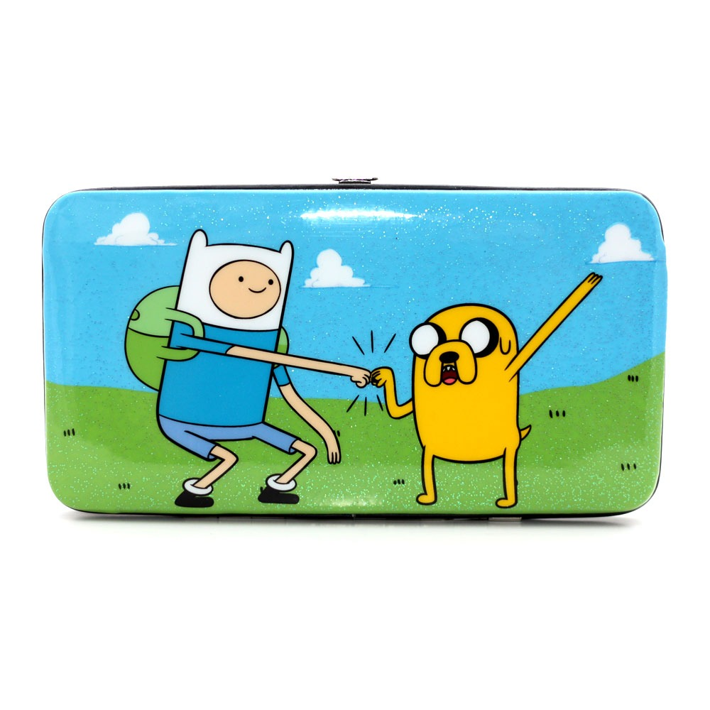 Gemeinsame Adventure Time / Jake & Finn / Hardcase Geldbörse • Lootware &HB_64