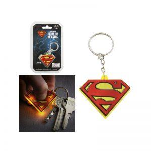 dc-comics-key-chain-with-light-superman-schlüsselanhänger-man-of-steel-licht-leuchtfunktion