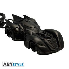 DC Comics – Batmobil – Premium 3D-Schlüsselanhänger – 3