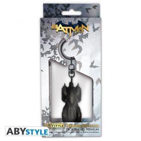 DC Comics – Batmobil – Premium 3D-Schlüsselanhänger – 2