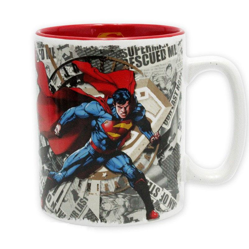 DC Comics – Superman & Logo – King Size Tasse – 5
