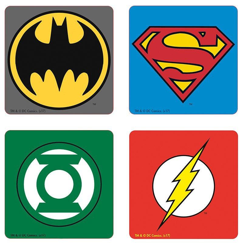dc-comics-set-4-coasters-emblem-untersetzer-green-lantern-batman-superman-flash-2