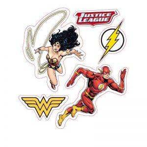dc-comics-stickers-16x11cm-2-planches-justice-league-5-stück-batman-superman-dark-knight-man-of-steel-wonderwoman-flash-3