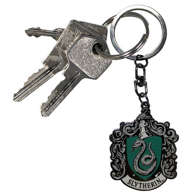 Harry Potter Slytherin Wappen Metall Schlusselanhanger Lootware