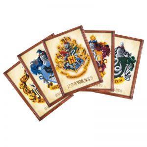 harry-potter-postcards-set-postkarten-hogwarts-gryffindor-ravenclaw-hufflepuff-slytherin-häuser-8