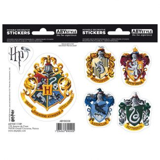 harry-potter-stickers-16x11cm-2-planches-hogwarts-houses-gryffindor-hufflepuff-slytherin-ravenclaw-häuser-aufkleber-3