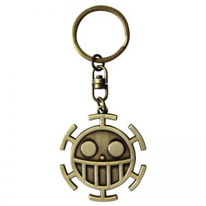 one-piece-keychain-3d-trafalgar-law-heart-pirates-piratenbande-schlüsselanhänger-jolly-roger-3