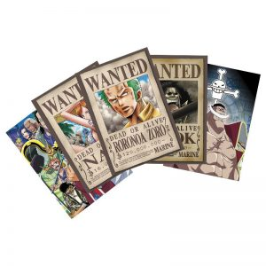 one-piece-postkarten-postcards-strohhüte-ruffy-sanji-Zorro-zoro-luffy-nico-robin-nami-brook-chopper-lysop-wanted-6