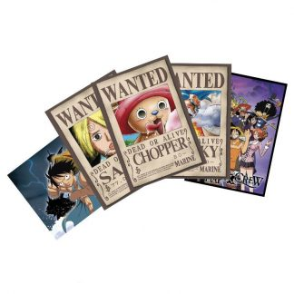 one-piece-postcards-set-3-x5-chopper-wanted-co-148x105-sanji-franky-brook-ruffy-luffy-nami-robin-8