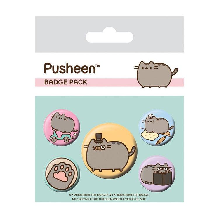 pusheen-ansteck-buttons-5er-pack-fancy-cat-badges