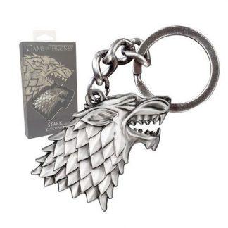 game-of-thrones-keychain-metall-stark-direwolf-got-schlüsselanhänger-silber-siegel