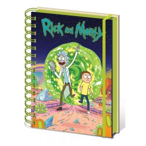 rick-and-morty-portal-notizbuch-notebook-a5-spiralbindung-pyramid