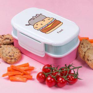 pusheen-lunchbox-burger-pizza-käse-tomate-kawaii-gabel-löffel-6