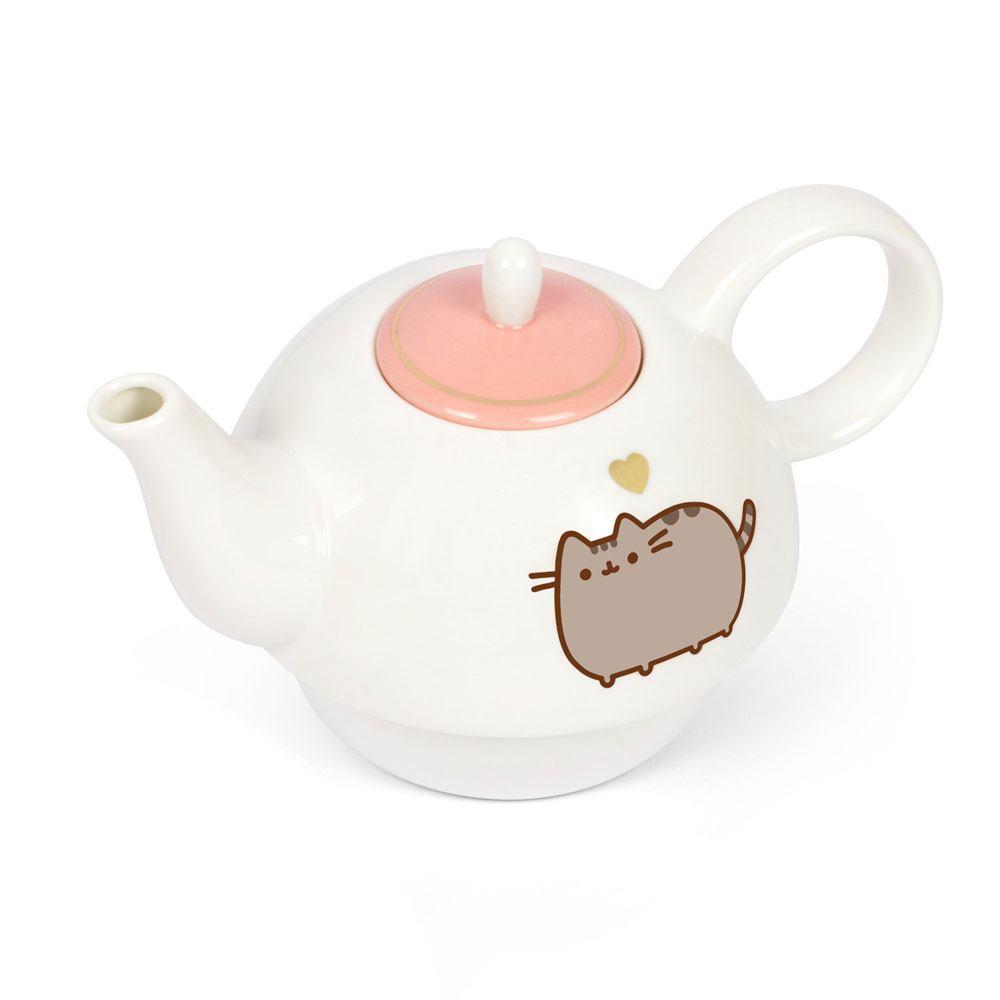 Pusheen Teekanne Tasse Mit Goldverzierung Lootware
