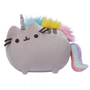 pusheen-plüschfigur-plush-cat-katze-flauschig-kawaii-mittel-medium-groß-big-33-cm-pusheenicorn-unicorn-einhorn-bunt