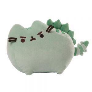 pusheen-plüschfigur-plush-cat-katze-flauschig-kawaii-mittel-medium-groß-big-33-cm-pusheenosaurus-saurier-grün-grumpy-wild