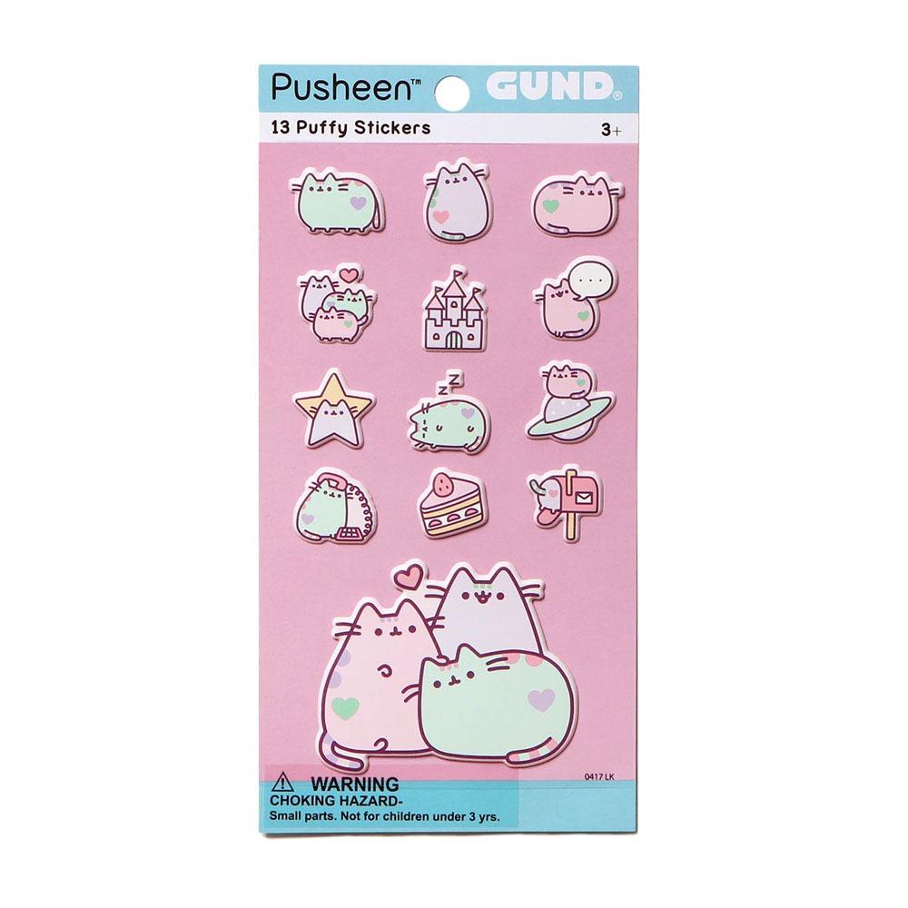 pusheen-sticker-pastell-cat-katze-kawaii-pastellfarben-puffy-stickers-stickersheet-kätzchen