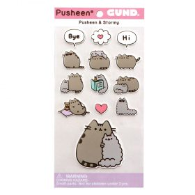 Pusheen – Pusheen & Stormy-  13-teiliges Stickerset