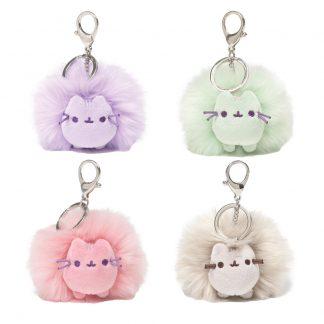 pusheen-poms-schlüsselanhänger-backpack-hanger-plüsch-plush-flauschig-anhänger-grau-violett-lila-grün-pink-rosa-weiß-4