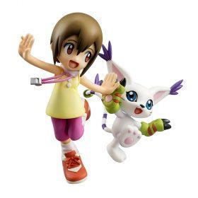 Digimon – Kari & Gatomon – G.E.M. Sammelfigur – 11 cm