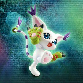 Digimon – Kari & Gatomon – G.E.M. Sammelfigur – 11 cm – 3