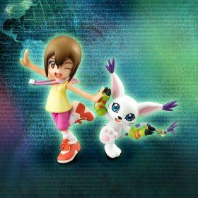 Digimon – Kari & Gatomon – G.E.M. Sammelfigur – 11 cm – 4