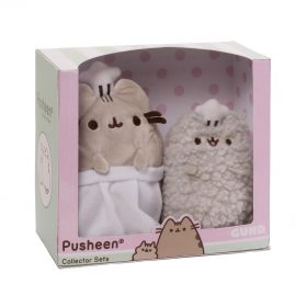 Pusheen – Stormy & Pusheen – Baking Collector Set – Plüschfiguren – 2