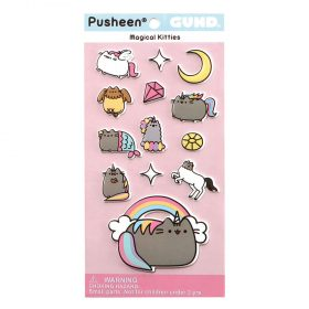 Pusheen – Magical Kitties –  13-teiliges Stickerset