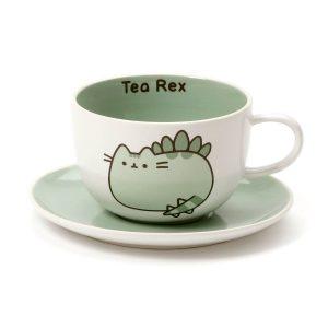 pusheen-tasse-mug-becher-pusheenosaurus-tea-rex-grün-the-cat-katze