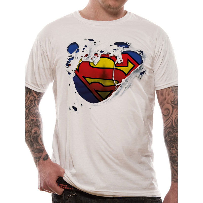 DC Comics – Superman – Torn Logo – T-Shirt