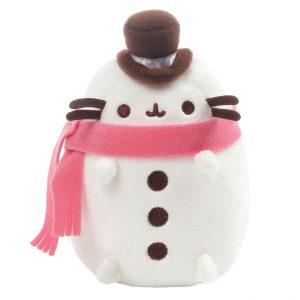 pusheen-the-cat-snowman-schneemann-snowcat-schneekatze-hat-hut-schal-winter-17-cm-gund