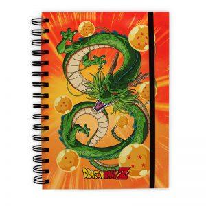 dragon-ball-notizbuch-notebook-shenlong-shenron-orange-grün-drache-abystyle-abyssecorp-a5-100-seiten-pages-1