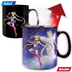 Sailor Moon – Sailor Moon & Chibiusa – King Size Farbwechsel Tasse – 2