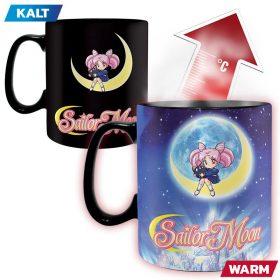 Sailor Moon – Sailor Moon & Chibiusa – King Size Farbwechsel Tasse – 1