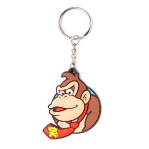 dk-donkey-kong-nintendo-schlüsselanhänger-keychain-rubber-gummi