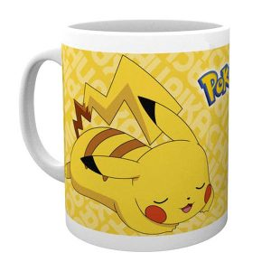 pokemon-mug-pikachu-rest-sleepy-pokémon-gelb-300ml